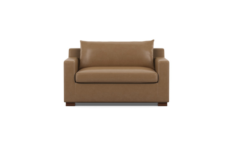 Sloan Leather Twin Sleeper Sofa - Interior Define