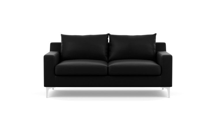 Sloan Leather Custom Apartment Sofa - Interior Define