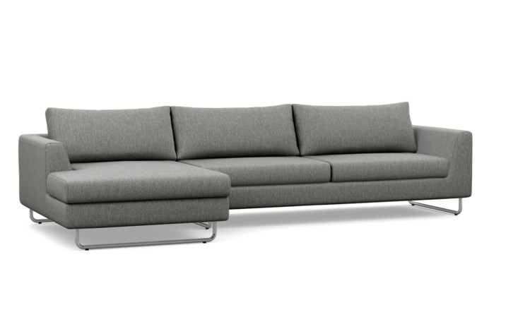 Asher Two-Seat Custom Sectional Sofa - Interior Define