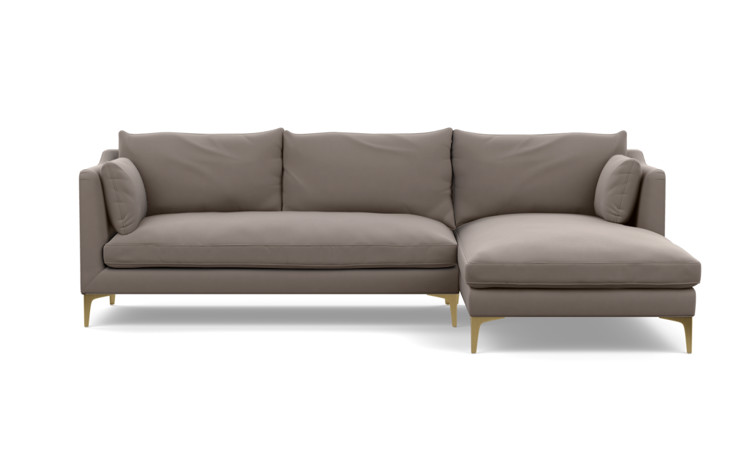 Caitlin by The Everygirl Custom Sectional Sofa - Interior Define