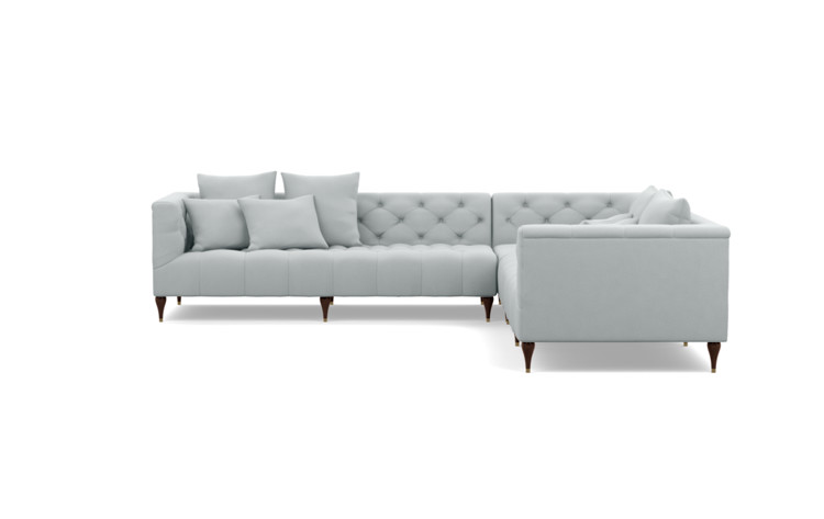Ms Chesterfield Corner Custom Sectional Sofa Interior Define
