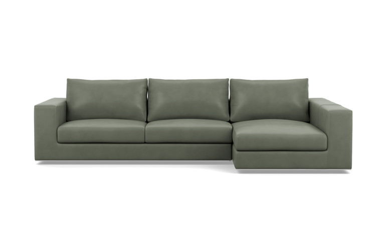 Frame 1 Of Walters Right Chaise Sectional Leather