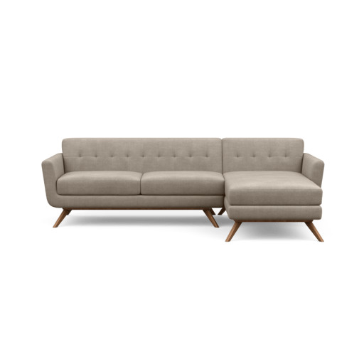 Cooper Mid-Century Modern Sofa Chaise – Perch Furniture