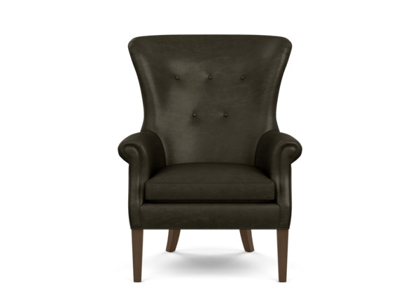 Awesome Wilder Leather Wing Chair Ethan Allen Short Links Chair Design For Home Short Linksinfo