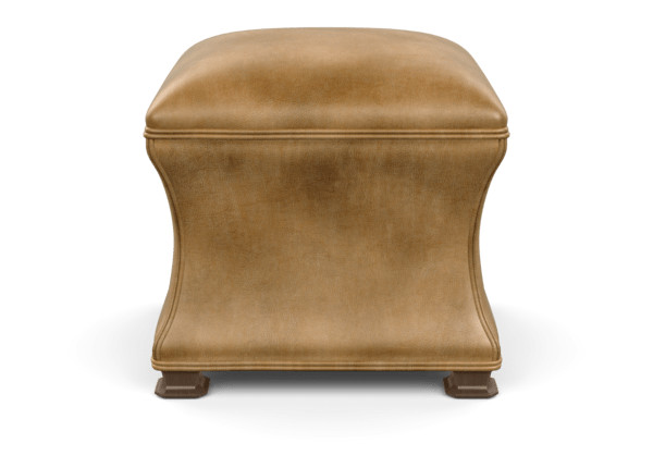 Superb Corbin Leather Ottoman Ottomans Benches Ethan Allen Caraccident5 Cool Chair Designs And Ideas Caraccident5Info