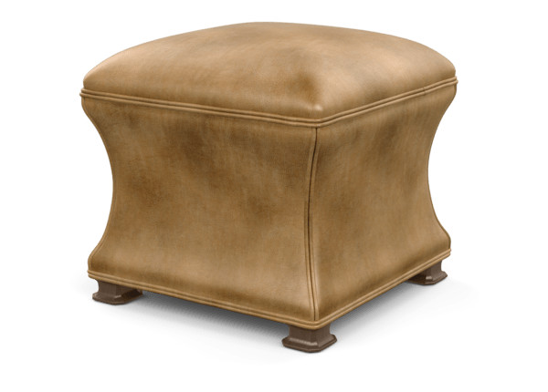 Super Corbin Leather Ottoman Ottomans Benches Ethan Allen Caraccident5 Cool Chair Designs And Ideas Caraccident5Info