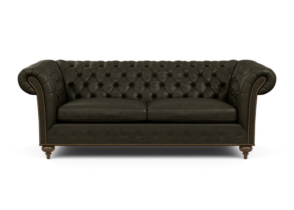 Mansfield Leather Sofa | Ethan Allen