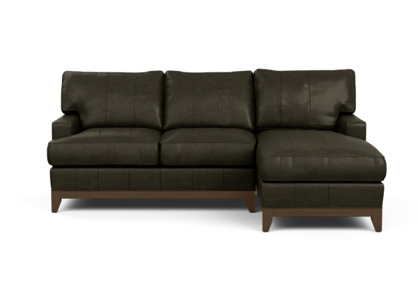 Arcata Two-Piece Leather Sectional | Ethan Allen