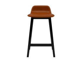 Bar Stool Tonno Tan Brown Premium Leather