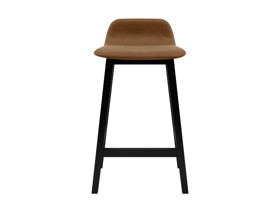 Bar Stool Tonno Wild Whiskey Brown Premium Leather