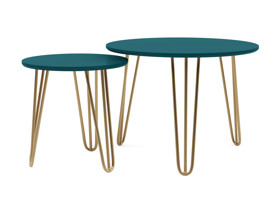 Side Table Caba Teal