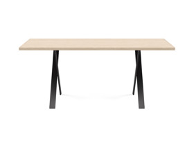 4-6 Seater Oak Dining Table Eleya Oak Clear Finish