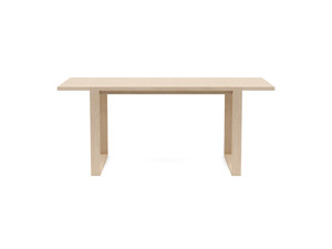 4-6 Seater Oak Dining Table Sala Oak Clear Finish