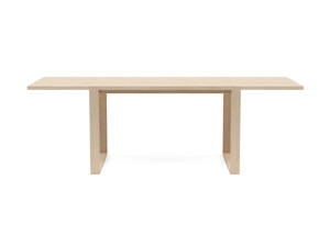6-8 Seater Oak Dining Table Sala Oak Clear Finish