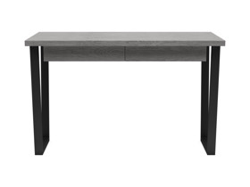 Oak Desk Motto Monsoon grey