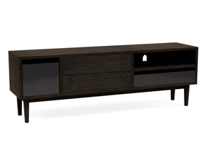 TV Cabinet Myra Intense black