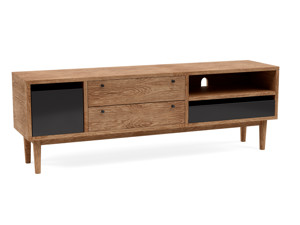 TV Cabinet Myra  Walnut Finish