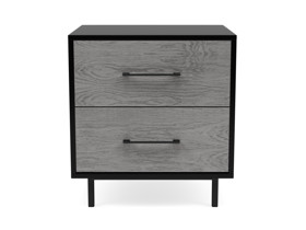 Bedside Pedestal Simi Monsoon Grey