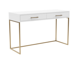 Dresser / Desk Lilo Satin White