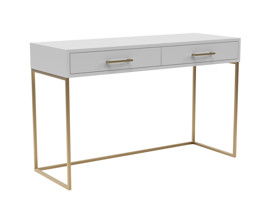 Dresser / Desk Lilo Satin Light Grey