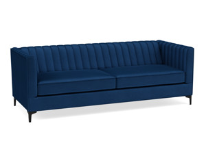 3 Seater Sofa Paven Blue Velvet