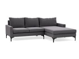 Corner Chaise Sofa Urban Grey