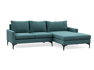 Corner Chaise Sofa Urban Pool Turquoise