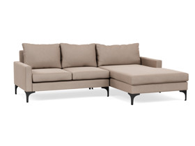 Corner Chaise Sofa Urban Morada Stone Brown