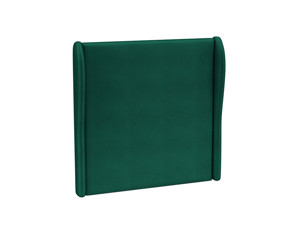 Headboard Solar Emerald Green Velvet