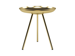 Side Table Denver  Brass Gold