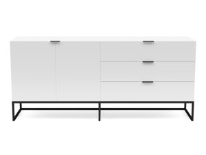 Gloss Server Oscuro Satin White
