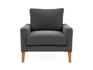 Occasional Chair Urban  Salon Silver Grey