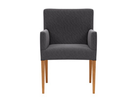 Dining Chair Carver Urban  Grey