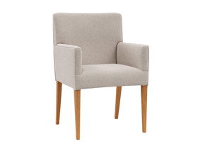 Dining Chair Carver Urban  Plaster Beige