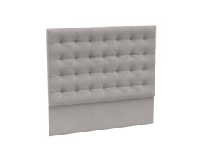 Headboard Orion Silver Lining Grey Velvet