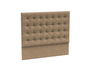 Headboard Orion Sand castle Beige Velvet
