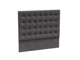 Headboard Orion Excalibur Grey Velvet