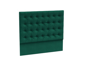 Headboard Orion Emerald Green Velvet