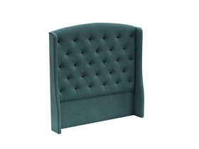 Tufted Headboard Phoenix Pool Turquoise