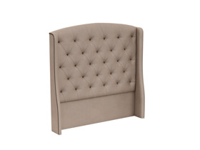 Tufted Headboard Phoenix Morada Stone Brown