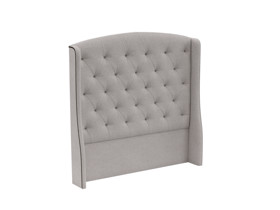 Tufted Headboard Phoenix Cement Grey