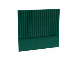 Headboard Sirius Emerald Green Velvet