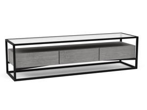 TV Cabinet Barbell Monsoon Grey