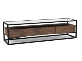 TV Cabinet Barbell Chocolate