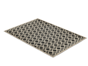 Outdoor Rug Ulla Black and White