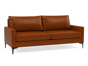 3 Seater Couch Urban Tan Premium Leather
