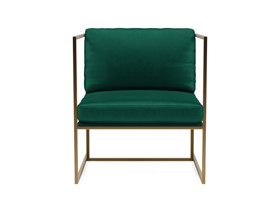 Occasional Chair Zina Emerald