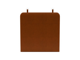 Wall Hanging Headboard Zaniah Tan Leather