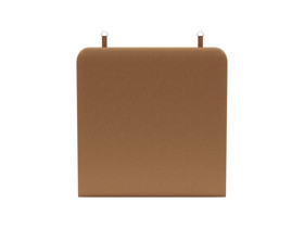 Wall Hanging Headboard Zaniah Dessert Leather