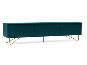 TV Cabinet Stylo Teal